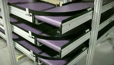 75) 90 Degree Turn Conveyors