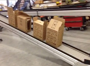 74) Z Frame Long Line Conveyor