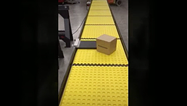 80) Bump Turn Packaging Conveyor