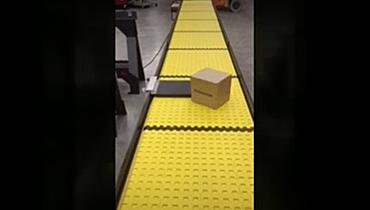 80) Bump Turn Packaging Conveyor