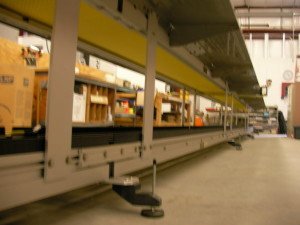 Long Line Pharmaceutical Conveyor