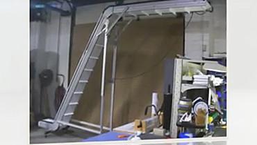 87) Up & Over Z Conveyor
