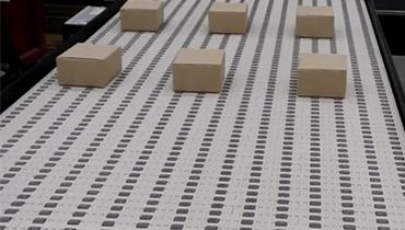 159) Singulating conveyor