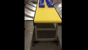 166) Folding Conveyor