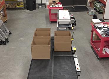 199) Z Counting Box Filler Conveyor