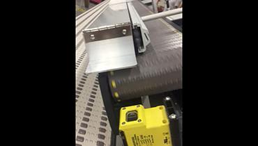218) Angled conveyor