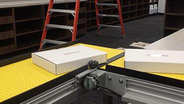 227) Best 90 degree turn packaging conveyor