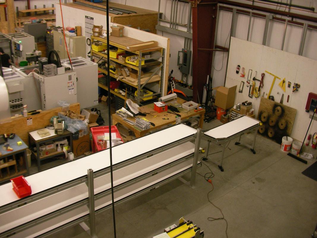 Tri-Level Pharmacy Line Conveyor