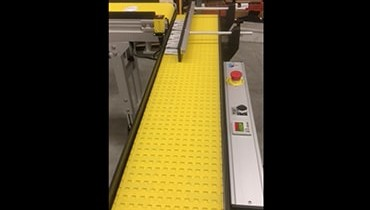233) counting shingling packaging conveyor