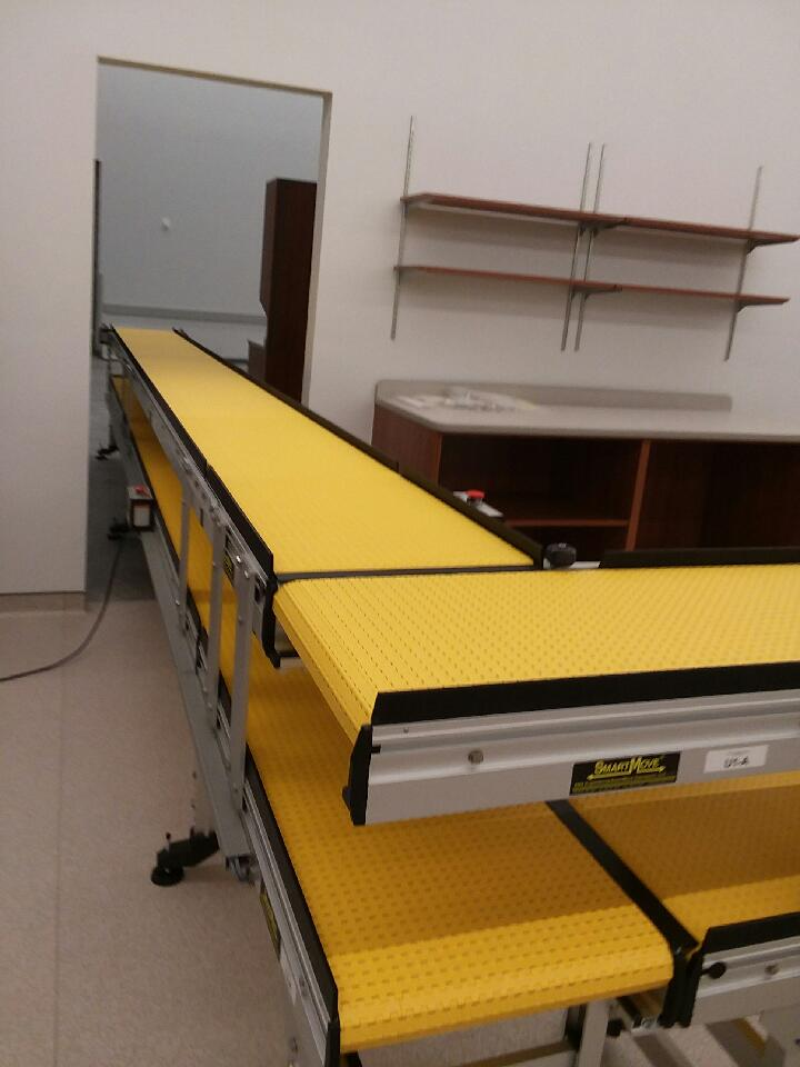 multilevel pharmacy conveyor