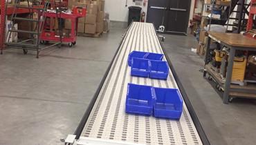 249) accumulation gate conveyor stop bar