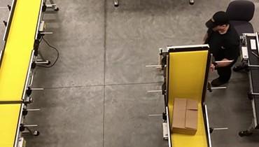 255) U Shaped Gate Conveyor