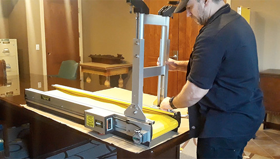 Installing Conveyor Legs