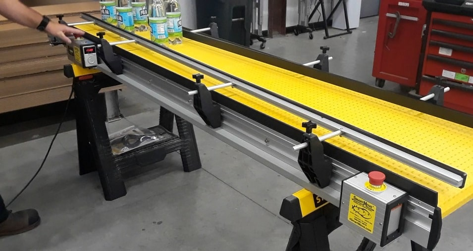 double stop accumulation smartmove conveyor system
