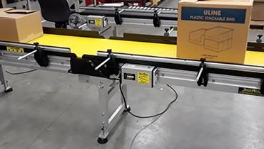 276) lightweight aluminum gate modular conveyor