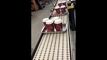 279) roller top food conveyor belting