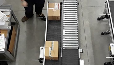 281) counting packaging accumulation conveyor