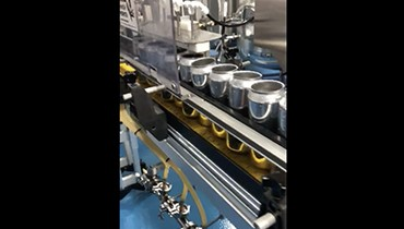 285) canning line accumulation conveyor