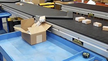 287) quality control – packaging conveyor