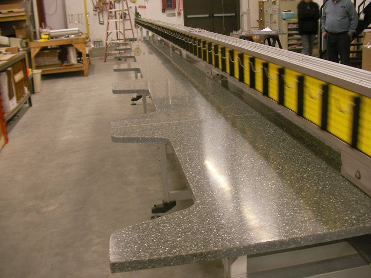work station line conveyor