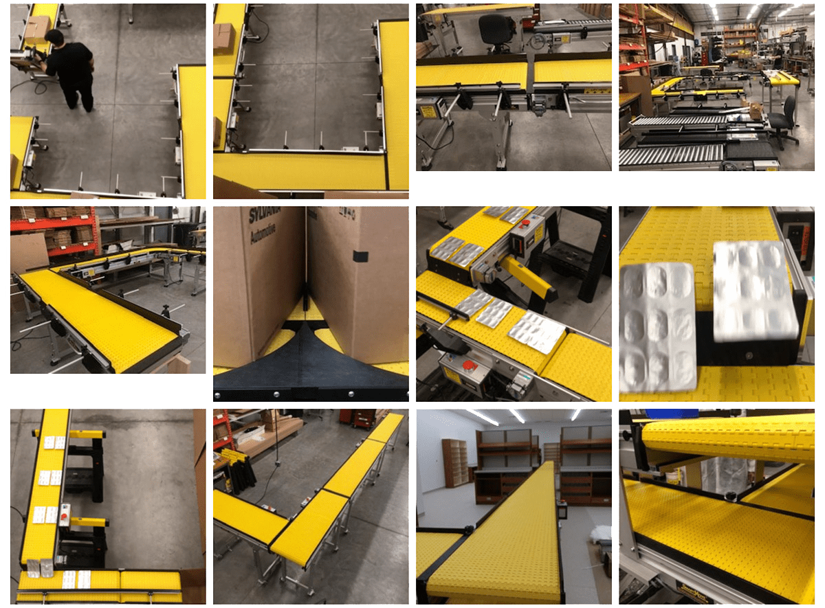 90 Degree Turn Conveyors For Any Industry