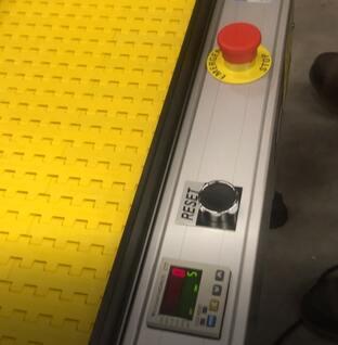 item counter e stop shuffling conveyor