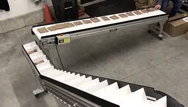 296) infeed – elevator – packaging conveyor