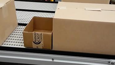 305) multi lane accumulation packaging conveyor