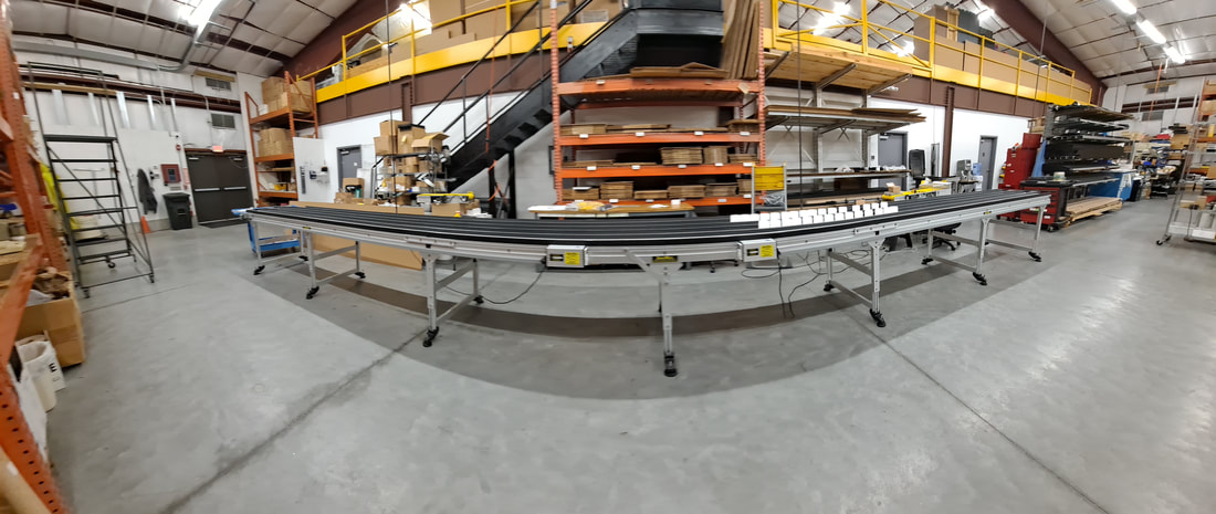 long line conveyor tested
