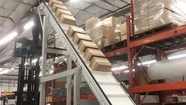 312) ZX Incline Hemp Products Conveyor