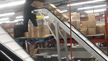 311) ZX Elevator Hemp Products Conveyor