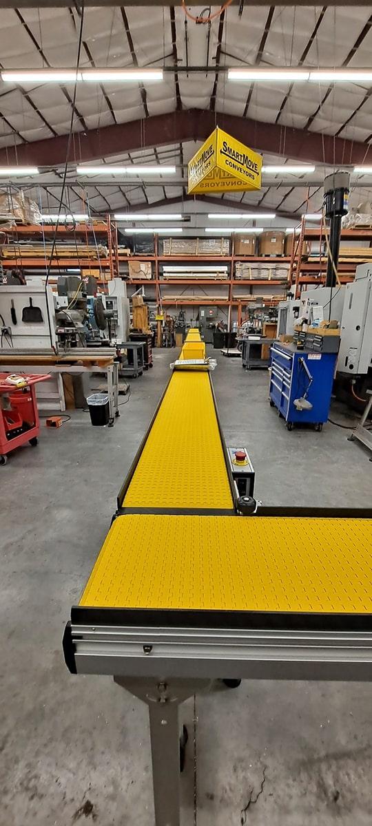 90 degree turn conveyor