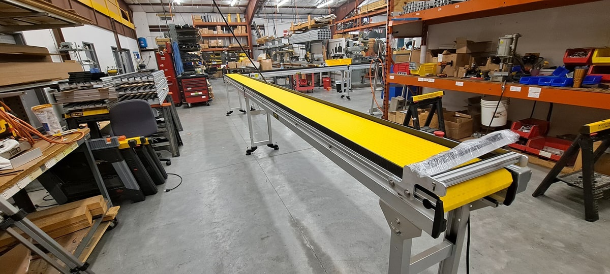 long line order fulfillment conveyor