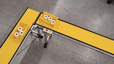 319) pharmacy order fulfillment conveyor
